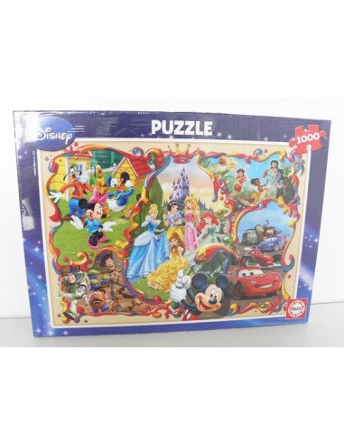 Disney World- 1000 db-os puzzle- Educa