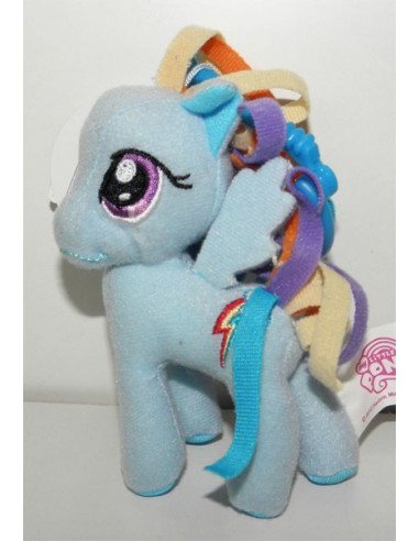 Rainbow Dash plüss táskadísz - 9 cm - My Little Pony