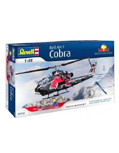Bell AH-1F Cobra - Helokopter makett - Red Bull - Revell 1:48