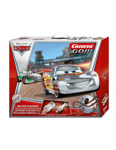 Cars Silver Racers - Carrera GO!!! - 62301