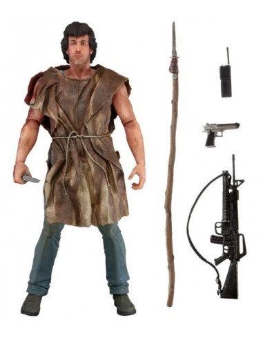 John J. Rambo - First Blood - Survival - NECA