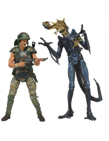 Dwayne Hicks vs. Alien - NECA figura csomag
