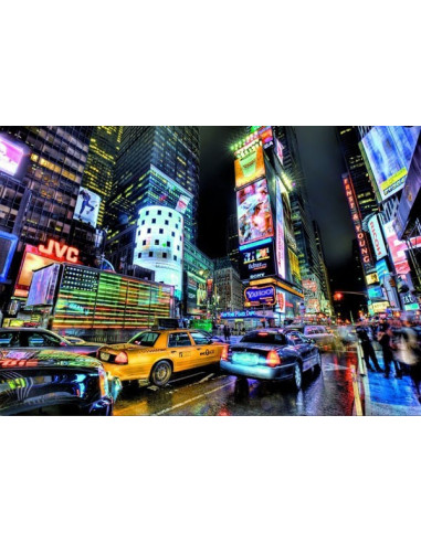 Time Square, New York - 1000 db-os puzzle - Educa