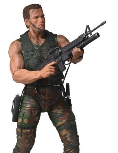 Jungle Patrol Dutch - Predator - 1/4 méret - NECA
