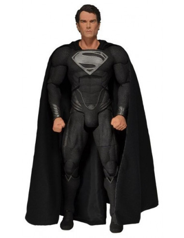 Superman- Az acélember figura- Black Suit- 1/4- Neca