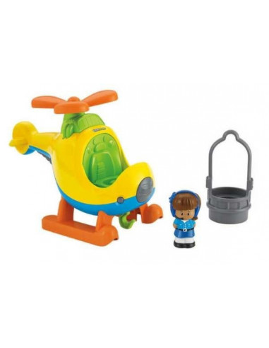 Helikopter figurával - Fisher Price