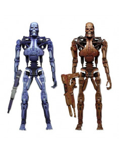 Endoskeleton dupla pack - Robocop vs. The Terminator - Neca