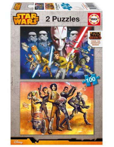 Star Wars Rebels - 2 x 100 db puzzle - Educa