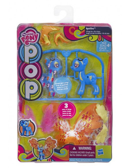 Spitfire szárnyas szett - My Little Pony POP