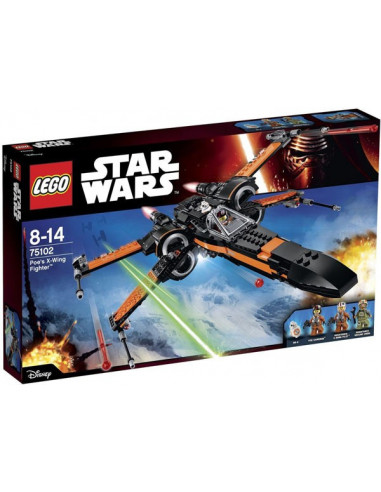 Poe's X-Wing Fighter - Lego Star Wars - 75102