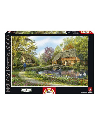 Házak a zöldben - Meadow Cottages - Educa Puzzle