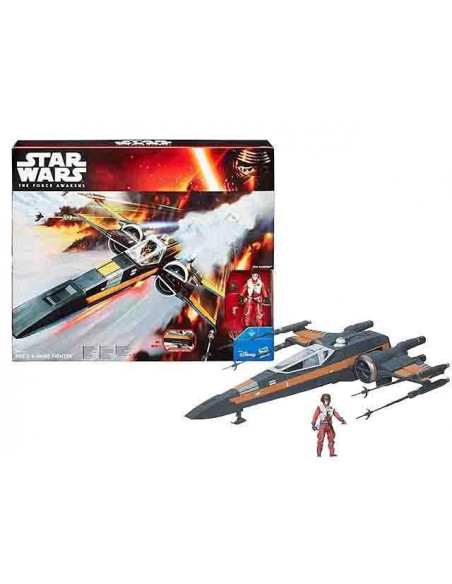 Poe Dameron X-Wing fighter űrhajó - Star Wars VII. - Hasbro