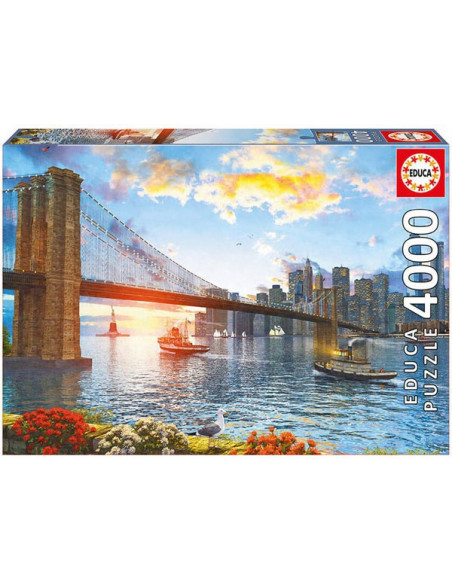 Brooklyn híd - 4000 db-os puzzle - Educa 16782