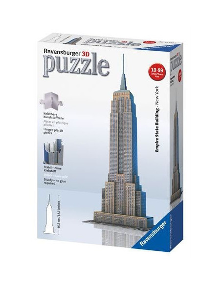 Empire State 3D Puzzle- Ravensburger 125531