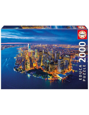 New York-i látkép - 2000 db-os puzzle - Educa 16773