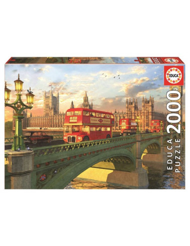 Westminster híd, London - 2000 db-os puzzle - Educa 16777