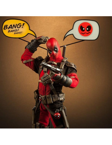 Deadpool Sixth Scale figura - Sideshow Collectibles (MIVAN?!?!)
