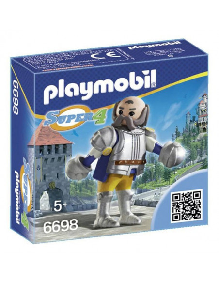 Sir Ulf, a zúzó - Super 4 - Playmobil 6698