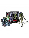 Predalien Battle Damaged prémium figura + AVP2 DVD - Sideshow