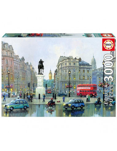 Charing Cross, London - 3000 db-os puzzle - Educa 16779