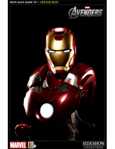 Iron Man Mark VII - The Avengers - Life-Size Bust - Sideshow Collectibles