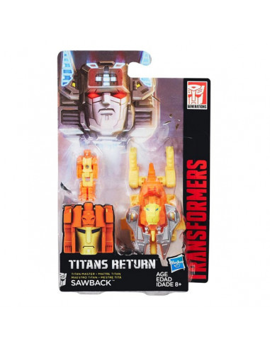 Sawback - Titans Return Titan Master robot - Transformers