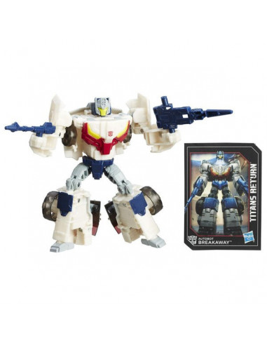 Throttle & Breakaway - Titans Return Deluxe Class - Transformers