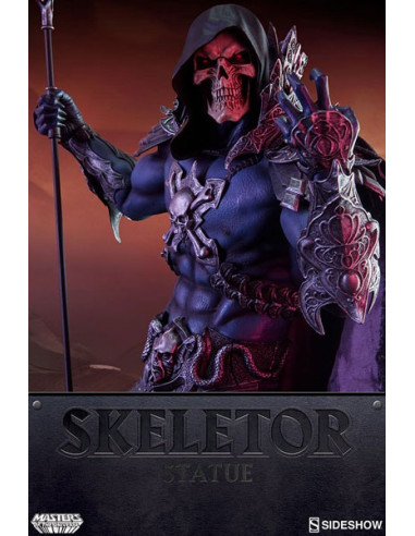 Skeletor Premium Format szobor - Masters of the Universe - Sideshow