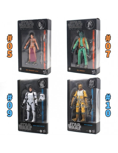 "Star Wars The Black Series 6"" - figurák - 15 cm"