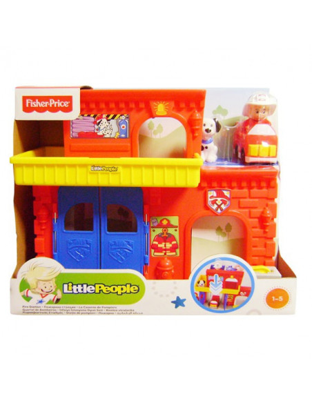 Little People tűzoltóállomás - Fisher Price