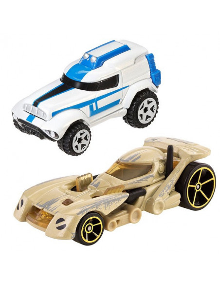 Star Wars Clone Trooper és Battle Droid kisautó - Hot Wheels