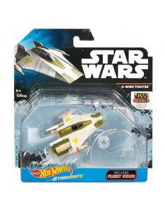 A-Wing Fighter csillaghajó - Star Wars - Hot Wheels