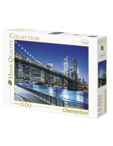 New York - 1500 db-os puzzle - Clementoni 31804