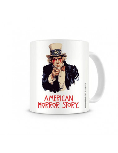 American Horror Story wants you porcelán bögre