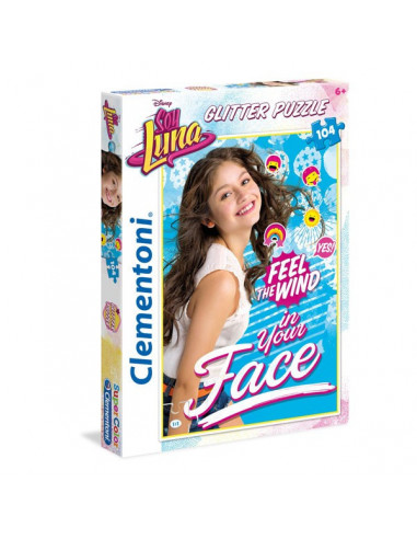 Soy Luna - 104 db-os flitter puzzle - Clementoni 20137