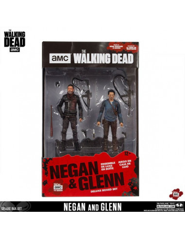 Negan és Glenn figura - The Walking Dead - McFarlane Toys