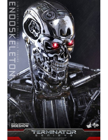 Endoskeleton Sixth Scale figura - Terminator Genisys - Sideshow Collectibles