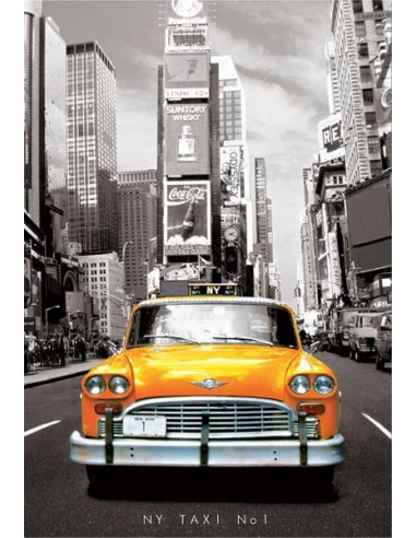 New York Taxi No1 - 1000 db-os puzzle - Educa 14468
