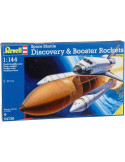 Space Shuttle Discovery and Booster Rockets- Revell modell