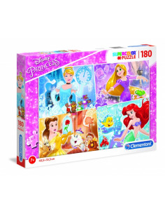 Disney Hercegnők - Mickey Mouse and Friends - 180 db-os Puzzle - Clementoni -