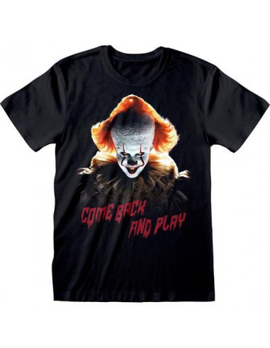 Pennywise póló - Come back and Play felirattal - XL -