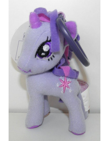Twilight Sparkle plüss táskadísz - 9 cm - My Little Pony -