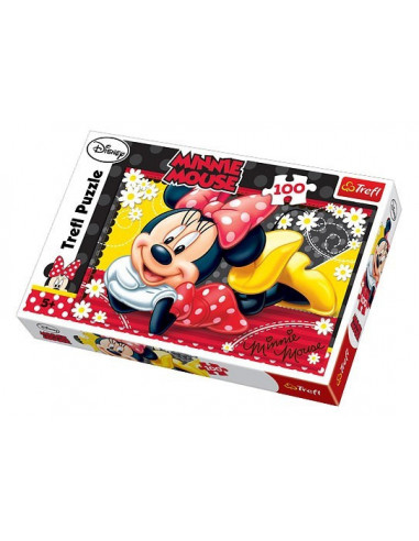 Minnie Mouse- 100 db-os puzzle- Trefl