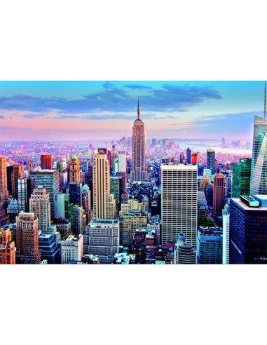 Manhattan, New York - 1000 db-os puzzle - Educa