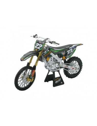 Kawasaki KX 450F- Bud Racing motormodell- New Ray