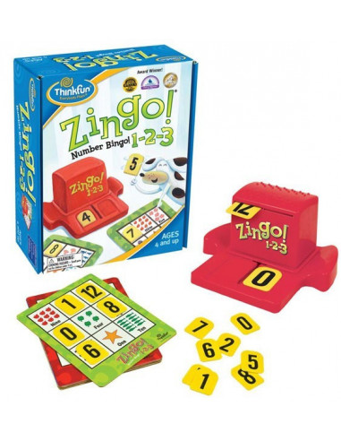 Zingo 1-2-3 - Thinkfun -