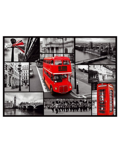 London kollázs- 1000 db-os puzzle- Trefl