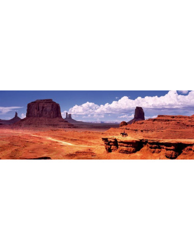 Monument Valley, USA - 1000 db-os panoráma puzzle - Educa -