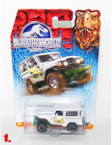 Jurassic World kisautó - Matchbox - 1. Toyota Land Cruiser