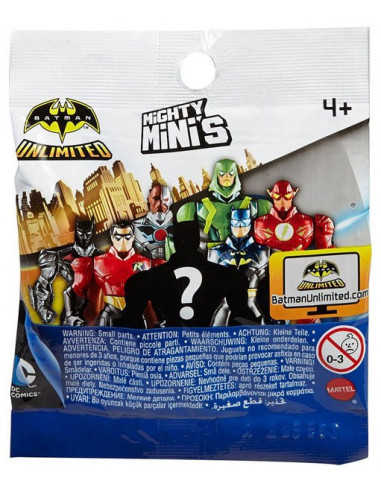 Batman Unlimited meglepetéscsomag - Mighty Minis